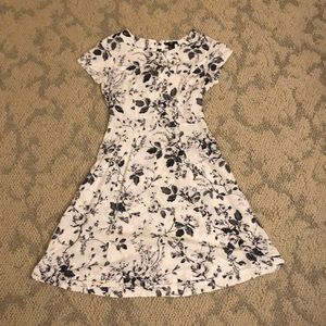 Floral A-Line Dress- Perfect for Summer